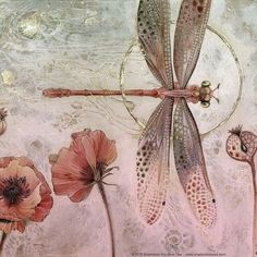 New ideas tattoo watercolor dragonfly how to paint Dragonfly Art, Dragonfly Tattoo, Dragonfly Painting, Dragonfly Drawing, Embroidery Kits, Beaded Embroidery, Aquarell Tattoos, Arte Floral, Art And Illustration
