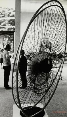 Constant Nieuwenhuys-Nébulose Mécanique at the Venice Biennale, 1966