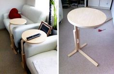 The ubiquitous IKEA FROSTA stool has seen its fair share of DIY hacks. From bedside tables by our very own Maxwell to speaker stands, the simplicity of the FROSTA's construction make them super easy to DIY into different types of furniture. We recently caught glimpse of the iconic stool being converted into the perfect partner for laptop users looking for an occasional workspace...