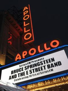 Thank you to Bruce, the E Street Band, and SiriusXM Radio for streaming this live!