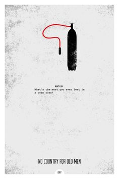 Minimalist Movie Posters With Iconic Quotes
