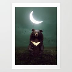 httpsociety6comproductthe light of starry dreams wolf moon_print145 my artistic friends pinterest wolf moon and moon print