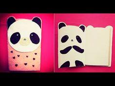 libreta de panda facil ♥ MIKU, papelitos123
