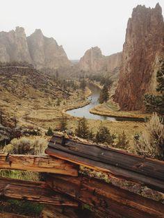 Smith Rock State Park - The High Desert, Terebonne, Oregon