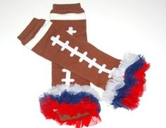The Sports Collection football legwarmers, different colors available visit www.gabskia.com only $3.99