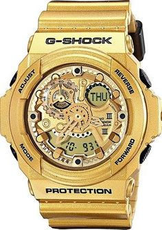 CASIO G-SHOCK LIMITED EDITION DARK GOLD COLOR MENS WATCH GA-300GD-9A