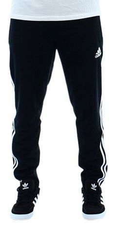 Adidas Tiro 13 Men's Training Pants Track Pants Black Size S (886834373844) 100% Polyester Doubleknit Ventilated climacool® keeps you cool and dry Drawcord on elastic waist Mesh ventilation insert below back waist Ankle zips for convenience