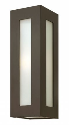 Hinkley Lighting 2194 Height 1 Light Outdoor Wall Sconce From The Dorian Bronze Sconces