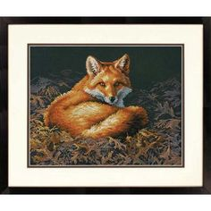 Dimensions® Sunlit Fox Counted Cross-Stitch Kit