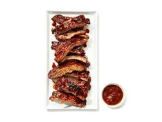 Almost-Famous Barbecue Spareribs copycat recipe from Famous Daves BBQ Food Network Kitchen Copycat Recipes, Pork Recipes, Cooking Recipes, Cooking Games, Cooking Pork, Easy Recipes, Chicken Recipes, Smoker Recipes, Cooking Salmon