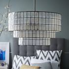 West Elm offers modern furniture and home decor featuring inspiring designs and colors. Create a stylish space with home accessories from West Elm. Capiz Chandelier, Mobile Chandelier, Rectangle Chandelier, White Chandelier, Chandelier Lighting, West Elm Chandelier, Capiz Shell Chandelier, Farmhouse Chandelier, Tea Station