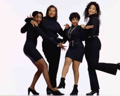 """19 Important Life Lessons We Learned From """"Living Single"""" Living Single, Bounce Tv, Black Sitcoms, Important Life Lessons, Queen Latifah, My Black Is Beautiful, Beautiful People, Boss Lady, Favorite Tv Shows"""
