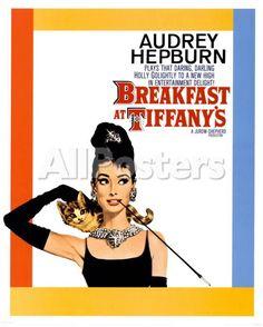 Breakfast At Tiffany's People Mini Poster - 41 x 51 cm