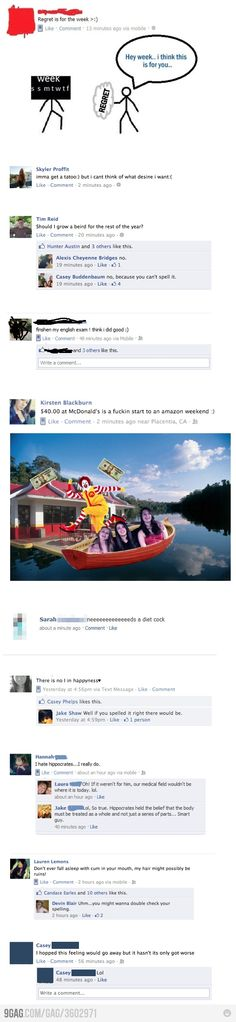 9GAG - Most Disastrous Facebook Spelling Mistakes Ever