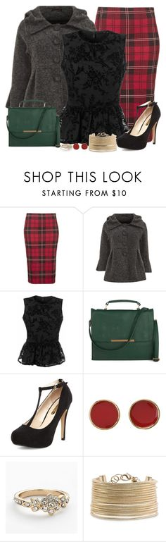 """Mixing Prints: Holiday Style"" by stylesdice ❤ liked on Polyvore featuring Topshop, Benetton, Dorothy Perkins, Kate Spade, LC Lauren Conrad and MANGO"