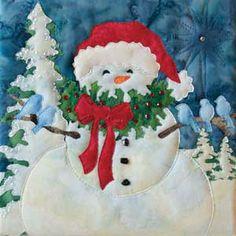SEASON'S TWEETINGS SNOW BUDS QUILT KIT BY MCKENNA RYAN
