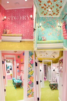 50 Lily Pulitzer Home Decorations - Lilly Pulitzer has at all times been about a colorful, happy, resort frame of mind. She has always been about a colorful, happy, resort state of mi. by Joey My New Room, My Room, Girl Room, Girls Bedroom, Bedrooms, Deco Kids, Piece A Vivre, Dream Rooms, Cool Rooms