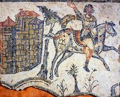 13 October 409 - during the Völkerwanderung, the Migration Period, the Vandal tribes, together with the Germanic Suebi and Irano-Sarmatian Alans had crossed the Pyrenees and arrived in Spain.