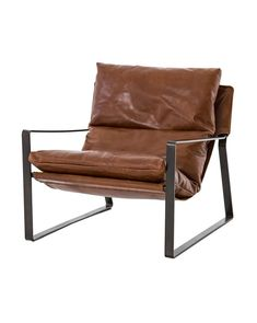 Emmett Sling Chair-Dakota Tobacco - Living Room Chairs - Chairs - Seating - Furniture - Four Hands - Brands Living Room Chairs, Dining Chairs, Lounge Chairs, Office Chairs, Ikea Chairs, Kitchen Chairs, Beach Chairs, Reading Chairs, Dining Room