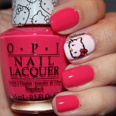 in love with this opi hello kitty colour spoken from the heart - Nuancier Gel Color Opi