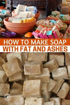 How To Make Soap With Fat and Ashes — Sanitation is one of the most overlooked aspects of survival and people are more concerned about stockpiling large quantities of food and water. #prepping #preparedness #prepper #survival #shtf #diy #homemadesoap #diysoap