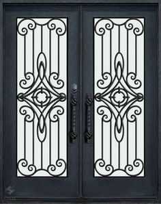 Wrought Iron Entry Doors Why Use Wrought Iron Exterior Doors?   Idee per la casa   Pinterest   Wrought iron Iron and Doors & Wrought Iron Entry Doors: Why Use Wrought Iron Exterior Doors ...