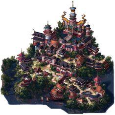 ArtStation - Village, SUJIN KIM