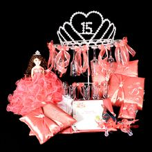 Find quinceanera packages and special quinceanera accessories in popular bundles! Save big with our special quinceanera packages! Quinceanera Traditions, Quinceanera Planning, Quinceanera Cakes, Quinceanera Decorations, Quinceanera Ideas, Quinceanera Dresses, 15th Birthday Party Ideas, Birthday Party Celebration, Birthday Parties