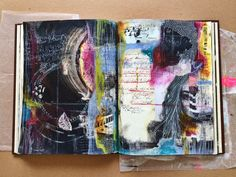 The Journal Diaries- Roxanne's Magical Mixed Media / Seaweed Kisses