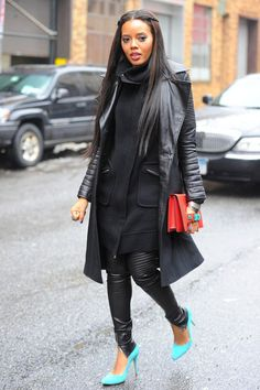 Swagger Jacking for the fall ♥ ♥ ♥ Angela simmons