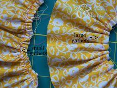 Four Ways to Gather Fabric