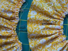 Four Ways to Gather Fabric