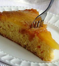 Pineapple Upside Down Cake Recipe - RecipeChart.com #Cake #Pineapple