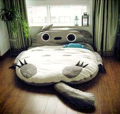 It's a Totoro BED!!!