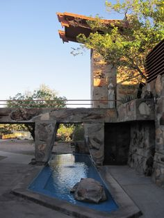 """Taliesin West - the final battle in Frank Lloyd Wright's crusade against """"the box"""""""