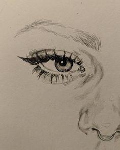 art sketchbook Me gusta, 12 comentarios - ad - Cool Art Drawings, Pencil Art Drawings, Art Drawings Sketches, Portrait Sketches, Photographie Portrait Inspiration, Arte Sketchbook, Art Hoe, Aesthetic Art, Aesthetic Drawing