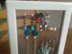 DIY Ikea Hack jewellery storage