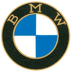 Evolution of the BMW logo (1927, 1933, 1954, 1974, 1979, 2007). Source: BMW, animgif: me. (edit: fixed rgb version)