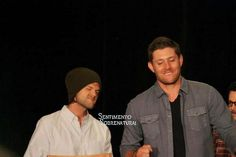Jared Padalecki and Jensen Ackles - VanCon 2014