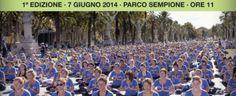 A Milano la più grande lezione di yoga all'aperto