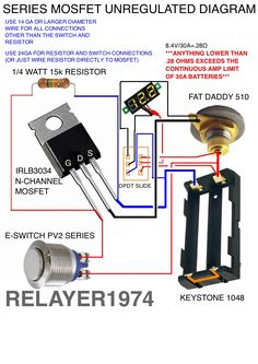 series battery mosfet wiring diagram box mods pinterest vape rh pinterest com kenwood mosfet 50wx4 wiring diagram mosfet wiring diagram airsoft