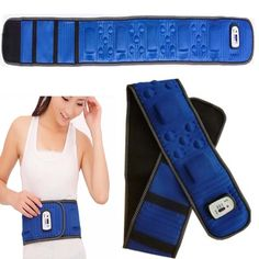 (26.14$)  Know more - http://ai9nk.worlditems.win/all/product.php?id=1997472373 - High quality Body 5 motor Vibro 20 health stone 2 kinds of massage mode Slimming Massager Vibrator Waist  Belt Slimming Machine