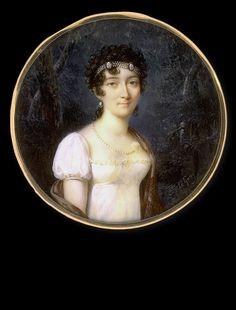 Caroline Le Guay, Lady in White Dress, ca.1810