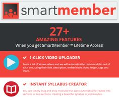 SMART MEMBER is AMAZING Product created by CHRIS RECORD. SMART MEMBER is TOP Tool that Generated 50,000+ Leads and $1Million in Revenues in Less Than a Year. with SMART MEMBER you can Build a Membership Site in Less than 60 Seconds! with SMART MEMBER you can launching your own membership based site and finding affiliates to promote your site to their lists.
