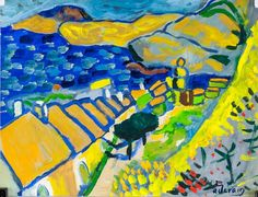 Buy online, view images and see past prices for Andre Derain French Expressionist Oil on Paper. Invaluable is the world's largest marketplace for art, antiques, and collectibles. Fauvism Art, Andre Derain, Van Gogh, Arts Ed, Classical Art, Wassily Kandinsky, Henri Matisse, French Artists, Contemporary Paintings