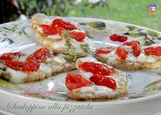 Scaloppine alla pizzaiola-ricetta secondi-golosofia