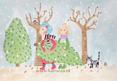 karoeza loves: Illustrations   2012