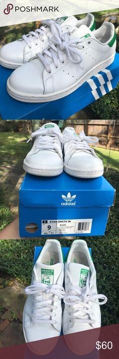 Adidas Stan Smith sneakers This sneakers are still in excellent condition, see photos for minor signs of wear. No bundles, no trades. Comes with box. Can usually ship same day! adidas Shoes Sneakers