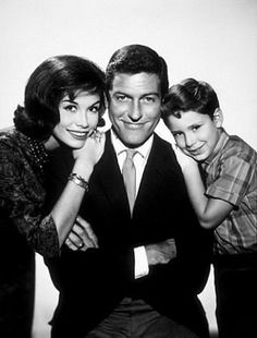The Dick Van Dyke show. My memories of watching this show are from when it went into syndication and was shown in the mornings. I think it was on our local CBS affiliate which showed sitcoms in the morning before the soap operas came on.