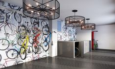 AZ Big Media Here are 5 trending amenities that are redefining apartment living Bike Storage Room, Dog Washing Station, Bike Room, Student House, Luxury Apartments, Apartment Interior Design, Commercial Interiors, Apartment Living, Architecture Design